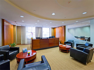 Rockefeller executive suite interior