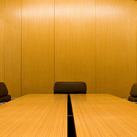 Lawyer conference room